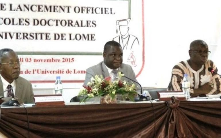 LANCEMENT OFFICIEL DES ECOLES DOCTORALES A L'UNIVERSITE DE LOME